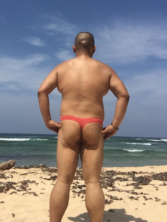 Bikini sun bather (5/218)