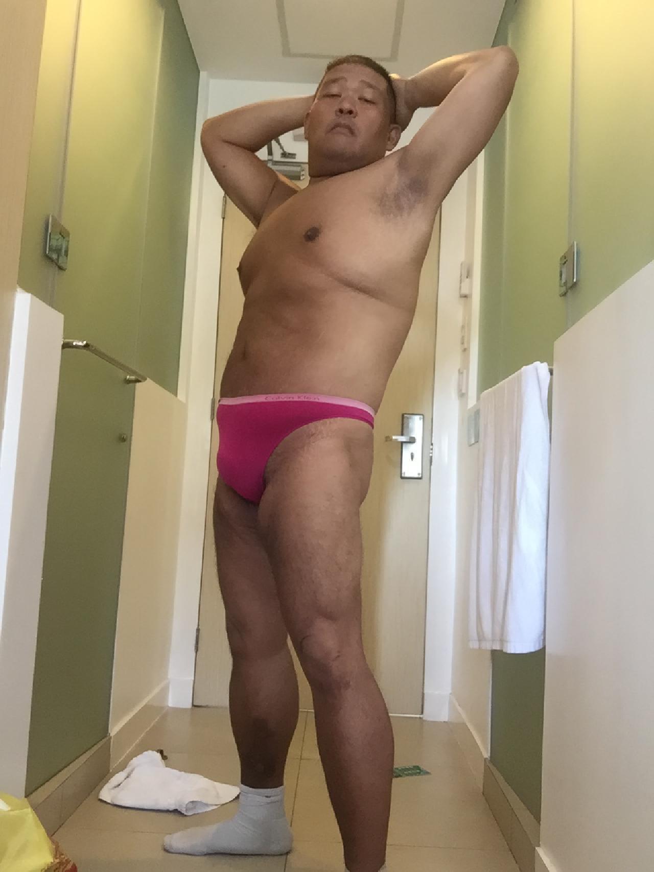Bikini sun bather (64/218)