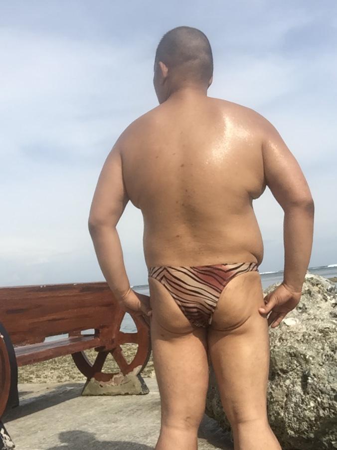 Bikini sun bather (114/218)
