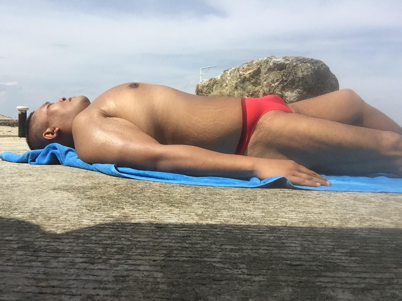Bikini sun bather (172/218)