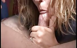 Amateur blowjob with passion