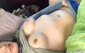 Amateur masturbation scene