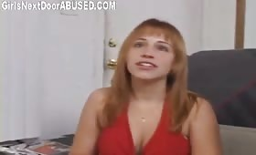 Hot blowjob with busty whore