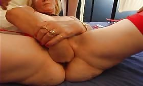 Fisting for my mature pussy and gandbang