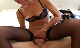 Mature loves anal sex